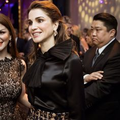 8 March 2017 - Queen Rania receives the 'Global Trailblazer' Award in Washington DC