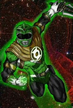 Does this mean the Dragonzord is made of cosmic energy. Green Lantern Powers, Green Lanterns, Go Go Power Rangers, Green Ranger, Red Hood, Geek Culture, Comic Books Art, Geek Stuff, Marvel