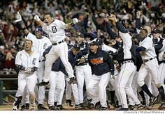 2006....I love my Tigers. I was at this game :-)