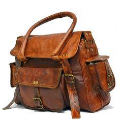 fbf90f64bfc3c #H5 Torba podróżna na ramię vintage, skóra kożlęca.S Backpacks, Torebki,