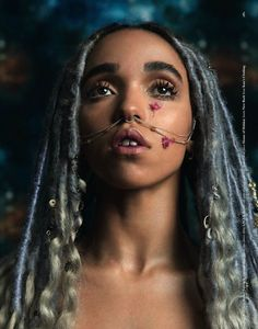 FKA twigs for Dazed's Anniversary Issue Photography Ryan McGinley Black Power, Hairstyles With Bangs, Braided Hairstyles, Dance Hairstyles, Style Outfits, Afro Punk, Style Casual, Doja Cat, Protective Styles