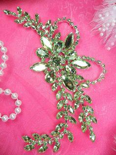 65//80mm Round Diamante Motif Trim Crystal for Embellishment Bridal Wedding Dress