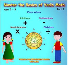 Master the Basics of Vedic Math Part1... for only $25.00