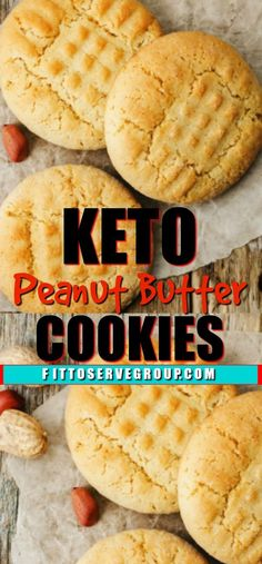 Weight Loss Diet Food These delicious keto peanut butter cookies use just enough almond flour to give them them perfect texture. It's a low carb peanut butter cookie that is sure to fool your taste buds. Keto Cookies, Keto Peanut Butter Cookies, Keto Friendly Desserts, Low Carb Desserts, Low Carb Recipes, Diet Recipes, Recipies, Ground Beef Stroganoff, Easy Cookie Recipes