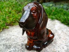 Avon Baby Basset Hound cologne bottle.  Too cute!