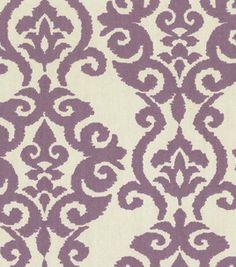 Waverly Modern Essentials Fabric-Luminary / Lilac
