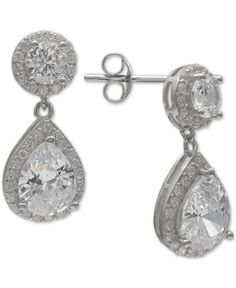 c98816683d0e3 kate spade new york Gold-Tone Stone Half-Circle Drop Earrings ...