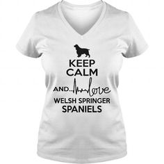 KEEP CALM AND LOVE WELSH SPRINGER SPANIEL  V-NECKS T-SHIRTS, HOODIES ( ==►►Click To Shopping Now) #keep #calm #and #love #welsh #springer #spaniel # #v-necks #Dogfashion #Dogs #Dog #SunfrogTshirts #Sunfrogshirts #shirts #tshirt #hoodie #sweatshirt #fashion #style
