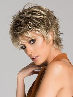CLICK by Ellen Wille in SAND ROOTED | Light Brown, Medium Honey Blonde, and Light Golden Blonde blend with Dark Roots