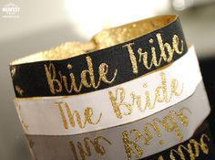 bride tribe hen do wristbands http://www.wedfest.co/bride-tribe-hen-party-wristbands/