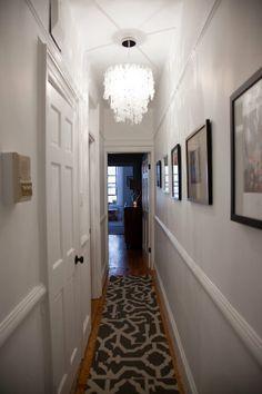 brighten a dark narrow hallway - Google Search