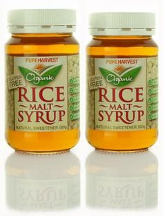 Organic Rice Malt Syrup is a versatile and natural sweetener made from organic brown rice. Fructose Free Recipes, Fructose Malabsorption, Free Rice, Organic Brown Rice, No Sugar Foods, Sugar Sugar, Sugar Free Recipes, Healthy Treats, Healthy Eating