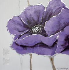 peinture fleurs - Buscar con Google