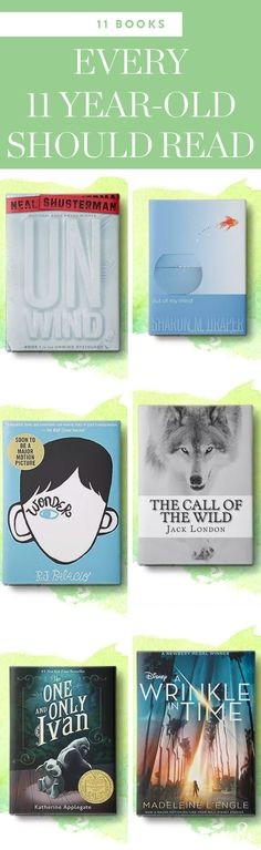 11 Books Every 11-Year-Old Should Read via @PureWow