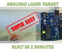 Do think laser tag is pretty cool?Well if you have an Arduino and an LDR, you can learn how to build and program a laser target circuit quite literally in just 2...