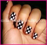 I will have these nails at my next NASCAR race.  I'm thinking a big 24 on the the thumb would be great ;)