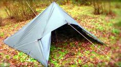 Montage tarp tent avec DD 3X3.  Set up step by step