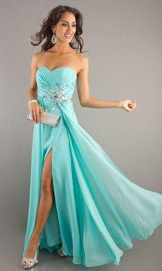 Cheap Stylish Sheath/Column Sweetheart Sleeveless Beading Floor-Length Chiffon Dress