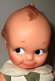 Girls-Toys-Dolls: Kuddly Kewpie Doll 1970's by Cameo Dolls Division of Strombecker Toys