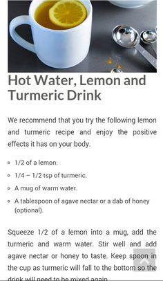 Lemon Turmeric Drink
