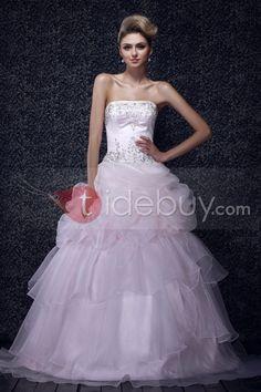 US$329.99 Beautiful Ball Gown Strapless Floor-Length Dasha's Quinceanera Dress. #Prom #Dasha's #Ball #Floor-Length