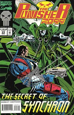 Punisher 2099 # 23 by Simon Coleby