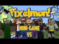 Pixelmon Mini Game - Pokemon X Vs Y The Clutch Golduck w/Mitch, Jerome, & LittleLizard! Pokemon, Minecraft Videos, Little Lizard, Mini Games, Lego, Legos