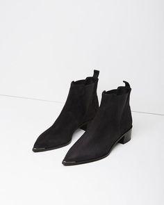 Acne Studios | Jensen Suede Ankle Boot | La Garçonne