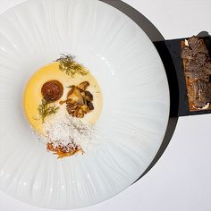 The Ledbury - great Aussie chef Brett Graham serving up exquisite food with the most amazing service in London. Definitely worth its spot in the top 50 restaurants in the world! (This is the buffalo milk curd with truffle toast)