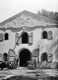 Wine Store, High Constantia, Cape Town | by HiltonT History Of Wine, Cape Dutch, Inner World, Dutch Colonial, Colonial Architecture, National Archives, Us Images, Cape Town, South Africa