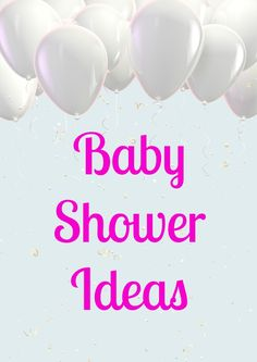 Our baby shower ideas and games will take your event from a boring day to something that everyone, including mom-to-be, will remember for years!