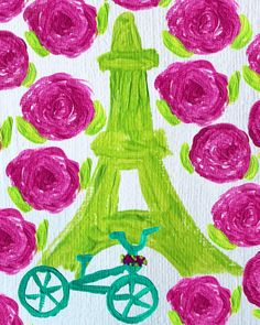 A Bike Ride in Paris by Jessica Marie