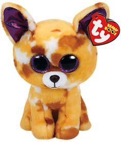 Ty Beanie Boos Pablo Dog Soft Toy, 16cm