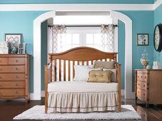 Babi italia Harrington Lifestyle Crib® Day Conversion in Mocha (Available from Babies R Us)