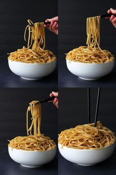 Here's a great way to get Hibachi noodles at home with half the cost. Noodles sauteed in butter, garlic, soy sauce, teriyaki sauce, sugar and sesame oil. Minus the teriyaki sauce for me! I Love Food, Good Food, Yummy Food, Tasty, Awesome Food, Delicious Recipes, Hibachi Noodles, Asian Noodles, Japanese Noodles