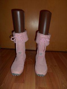 Adidas Originals/Trefoil Arosa Size 5 EU 36 Solid Pink Suede Boots/Shoes Unworn #Adidas #Comfort #Casual