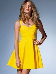 ShopStyle: Victoria's Secret Cross-back Sundress $38.99