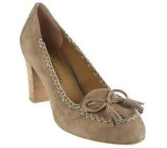 heeled moccasins. too cute :)