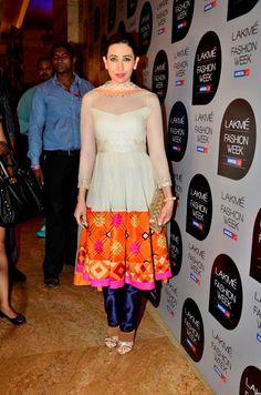 #Karisma Kapoor in Manish Malhotra