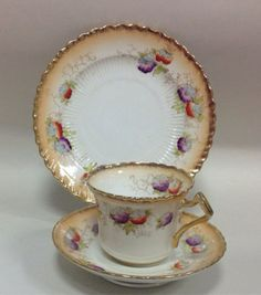 Royal Albert Vintage English China Tea cup Saucer & Teaplate Floral in Pottery, Porcelain & Glass, Porcelain/ China, Other Porcelain/ China | eBay