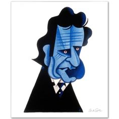 Johnny Cash - LIMITED EDITION Giclee on Canvas by David Cowles! Numbered and Signed