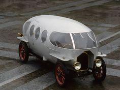 The 1914 Aerodinamica Prototype, An Early Aerodynamic Car