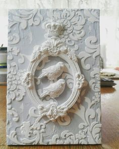 Wood Crafts, Fun Crafts, Diy And Crafts, Arts And Crafts, Paper Crafts, Shabby Chic Crafts, Vintage Crafts, Ballerina Ornaments, Clay Art Projects