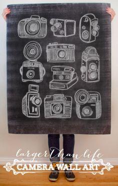 Cameras Printable from caravan shoppe | $5.00