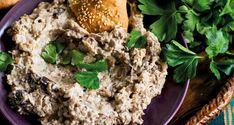Kashke Bademjan – auberginedipp - Vegomagasinet Vegan Recipes, Cooking Recipes, Vegan Food, Aubergine Recipe, Swedish Recipes, Fried Rice, Meal Planning, Dips, Deserts