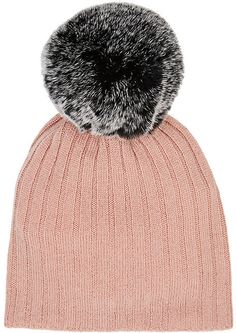c0f39bd302c Belle Enfant Pom-Pom-Embellished Merino Wool-Cashmere Hat  kids  hats  baby   toddler  sunhat  beanie  pompomhat  infant  girls  boys