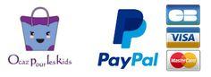 Intégration et paramétrage de la solution de paiement sécurisé PayPal sur Ocaz pour les Kids.