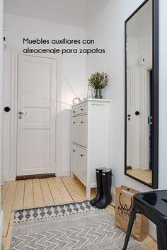 Inspiración para recibidores | Estilo Escandinavo