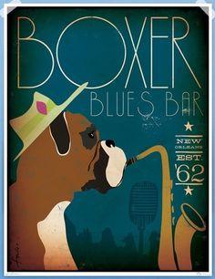 The Boxer Blues Bar is rockin' it.....
