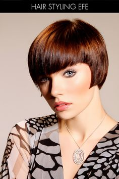 Short Hair with Fringe and Layers